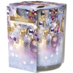 CANDLE CHIC Vonná sviečka v skle vôňa  vianoc