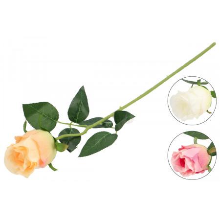 FLOWER HARMONY Umelý kvet ruža  53 cm