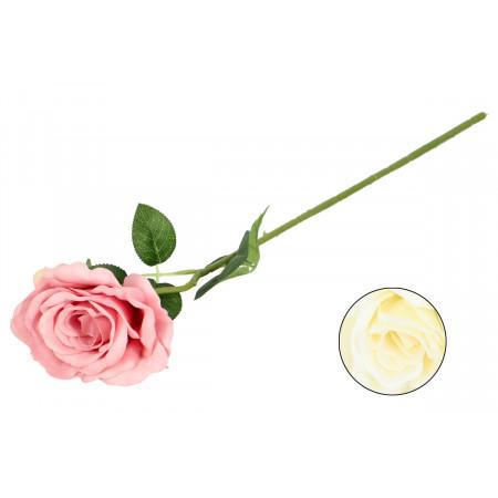 FLOWER HARMONY Umelý kvet kusovka ruža 52 cm