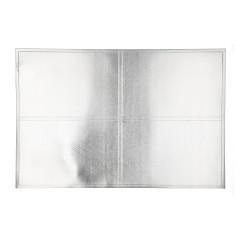 HOME DECO Prestieranie 30x45 cm, strieborná