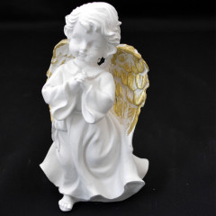CERAMICS & GIFTS Anjel sadrový 18x9 cm