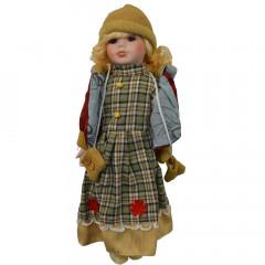 HOME DECO Porcelánová bábika 41cm