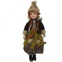 HOME DECO Porcelánova bábika 41 cm