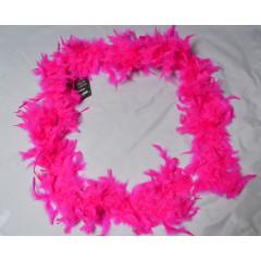 Boa šál 180 cm rúžový