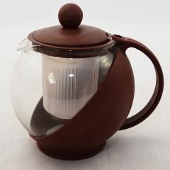 GLASS FEELING Čajník sklenený so sitkom 0,65 l