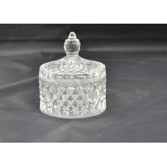 GLASS FEELING Cukornička sklenená 10x8,5 cm