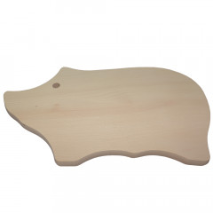 Doska na krájanie prasiatko 30x18x1,5 cm bukové drevo