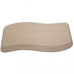 Doska na krájanie vlnka  10x19x1,5 cm bukové drevo