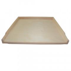 WOOD ART Doska na vaľkanie cesta bukové drevo  58,5x45 cm