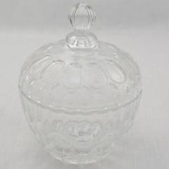 GLASS FEELING Dóza na cukríky sklenená 0,6 l