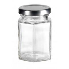 KITCHEN CLASSIC Dóza sklenená s plechovým uzáverom 110 ml