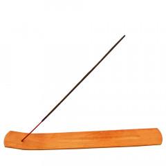 WOOD ART Drevený stojan na vonné tyčinky 25x3 cm