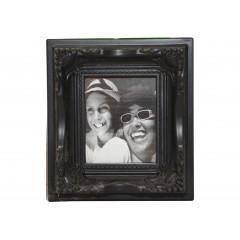 PHOTO SKILL Fotorámik plastový maličký, čierny 12x10,5 cm
