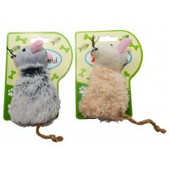 Hračka pre zvieratá myška na podložke