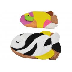 Hubka na sprchovanie rybka