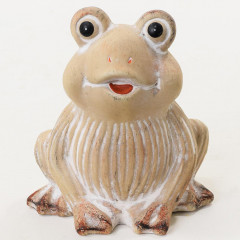 CERAMICS & GIFTS Žaba dekoračný predmet 12x12 cm