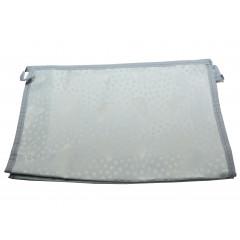 ACCESSORIES & STYLE Kozmetická taška  27 x 18 cm sivá