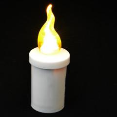CANDLE CHIC LED svetlo žlté blikajúce 11 cm 1200 hodinové