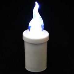 CANDLE CHIC LED svetlo biele blikajúce 11 cm 1200 hodinové