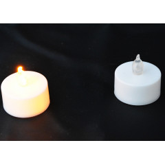 CANDLE CHIC Sviečka čajová LED 3,8x1,8 cm