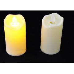 CANDLE CHIC Sviečka vosková LED 9x5 cm