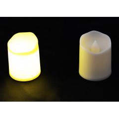 CANDLE CHIC Sviečka LED vosková 4x3,5 cm
