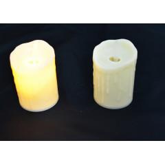 CANDLE CHIC sviečka LED - pohyblivý plameň   5,5x7 cm