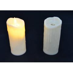 CANDLE CHIC Sviečka LED pohyblivý plameň  5,5x10,5 cm