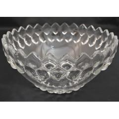 GLASS FEELING Miska sklenená priemer 24 cm, výška 12 cm