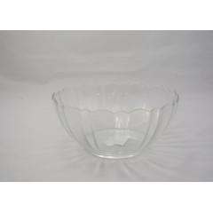 GLASS FEELING Miska sklenená priemer 20 cm, výška 7,5 cm