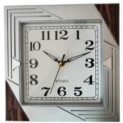 HOME DECO Nástenné hodiny  25,5x25,5 cm