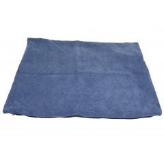 HOME DECO Obliečka na vankúš 60x40 cm kvalitný zips, pevný materiál modrá