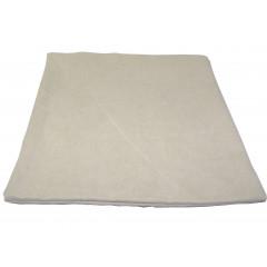 HOME DECO Obliečka na vankúš 38x38 cm, kvalitný zips, pevný materiál hnedá svetlá