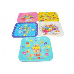 KITCHEN CLASSIC Párty tanieriky papierové 10ks 18×18 cm