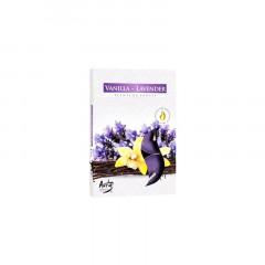 CANDLE CHIC Čajové sviečky VANILLA-LAWENDER 6 ks