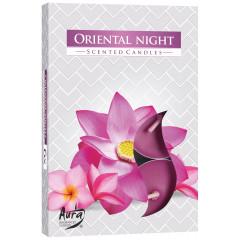CANDLE CHIC Čajové sviečky ORIENTAL NIGHT 6 ks