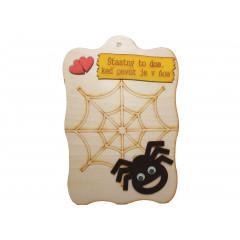 Humorný predmet Pavúk  22 x 14 cm
