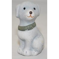 Pes dekoračný predmet 12 cm