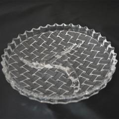 GLASS FEELING Podnos sklenený 22 cm