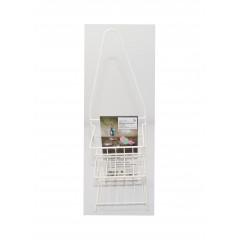 ACCESSORIES & STYLE Kúpeľňová polička biela 13x70x47 cm