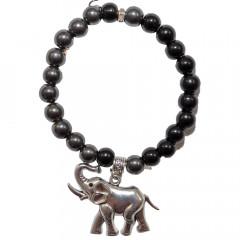 ACCESSORIES & STYLE Náramok na ruku so sloníkom pre šťastie