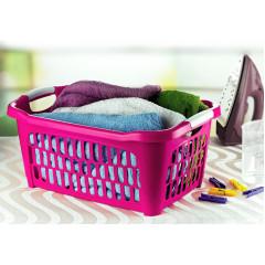 Kôš na prádlo plastový 40 l rozmer 38,5x58x28cm