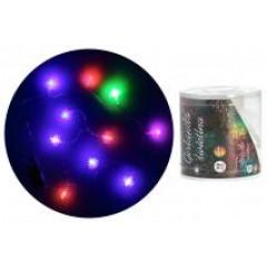CHRISTMAS DECOR Girlanda svetielka 10 LED ,,šišky,,