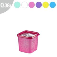 Dóza plastová  NO-FROST 0,38 l 8,6x8,4 cm