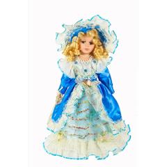 HOME DECO Porcelánová bábika princezná 41cm