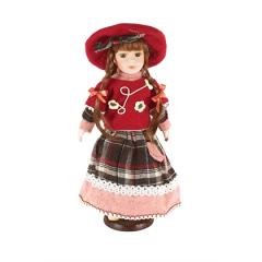 HOME DECO Porcelánová bábika 31cm