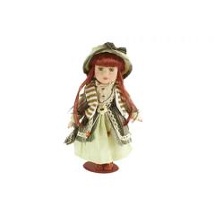 HOME DECO Porcelánová bábika 31 cm