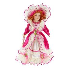 HOME DECO Porcelánová bábika princezná  31cm