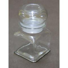 GLASS FEELING Korenička sklenená 120 ml  58x58x95 mm