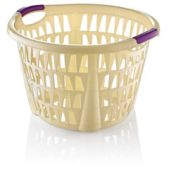 Kôš na prádlo okrúhly 30 l rozmer 47x48,5x31 cm